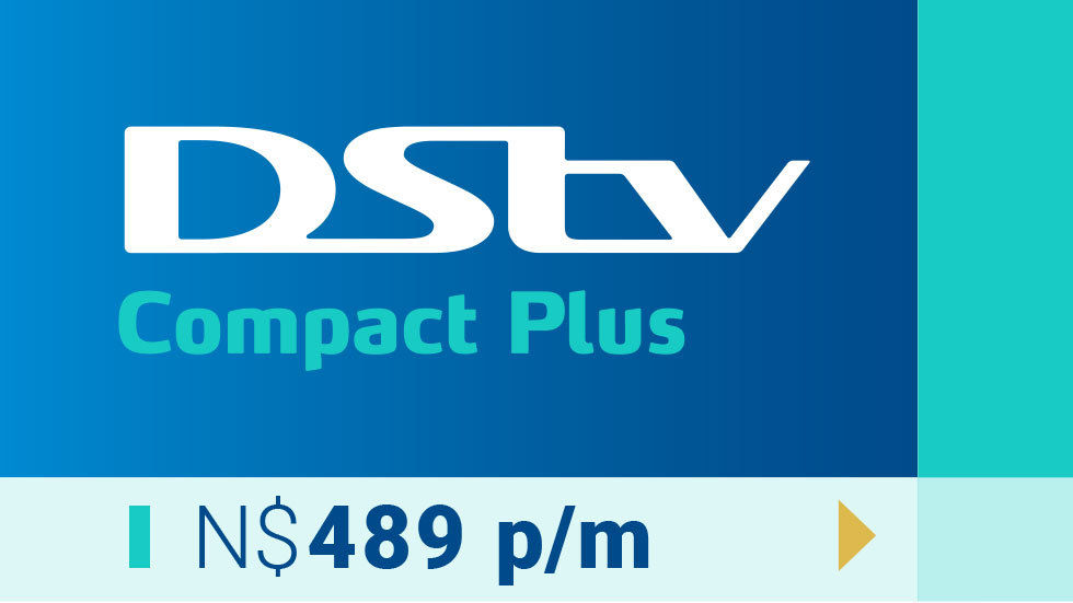 Artwork for Namibia Get DStv strip - Compact Plus