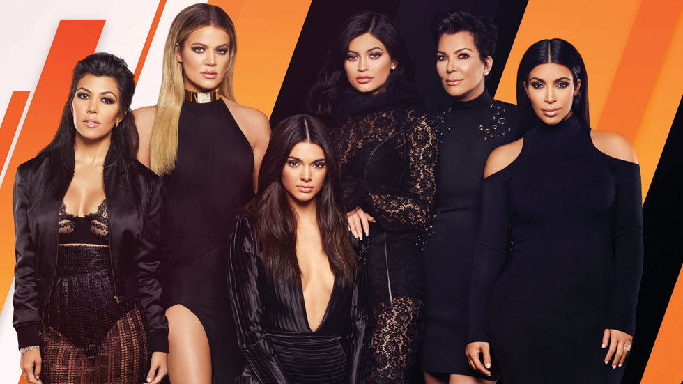 Artwork for the reality show Keeping Up With The Kardashians.