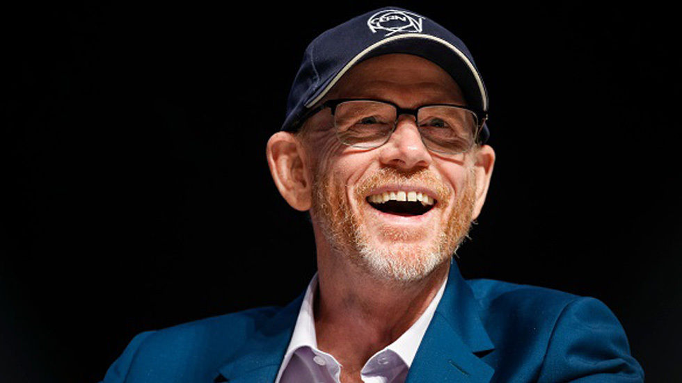 Ron Howard wearing cap and smiling