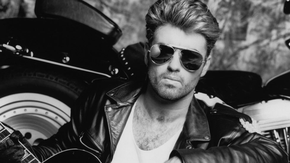 George Michael with sunglasses