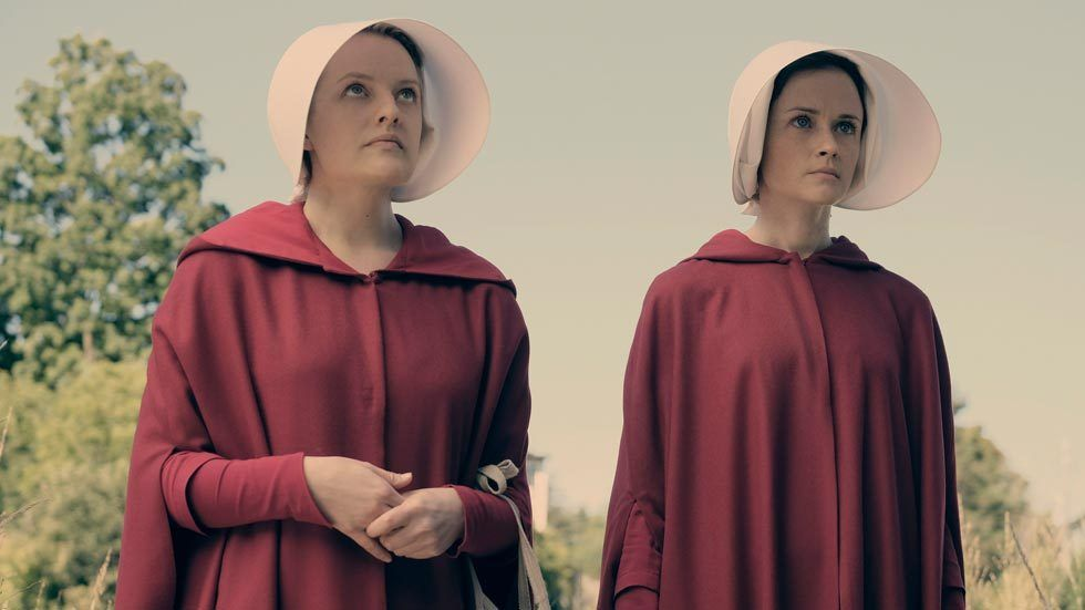 Artwork for The Handmaid's Tale starring Elizabeth Moss and Alexis Bledel