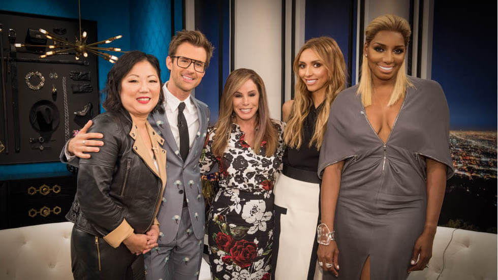 The Fashion Police presenter crew.
