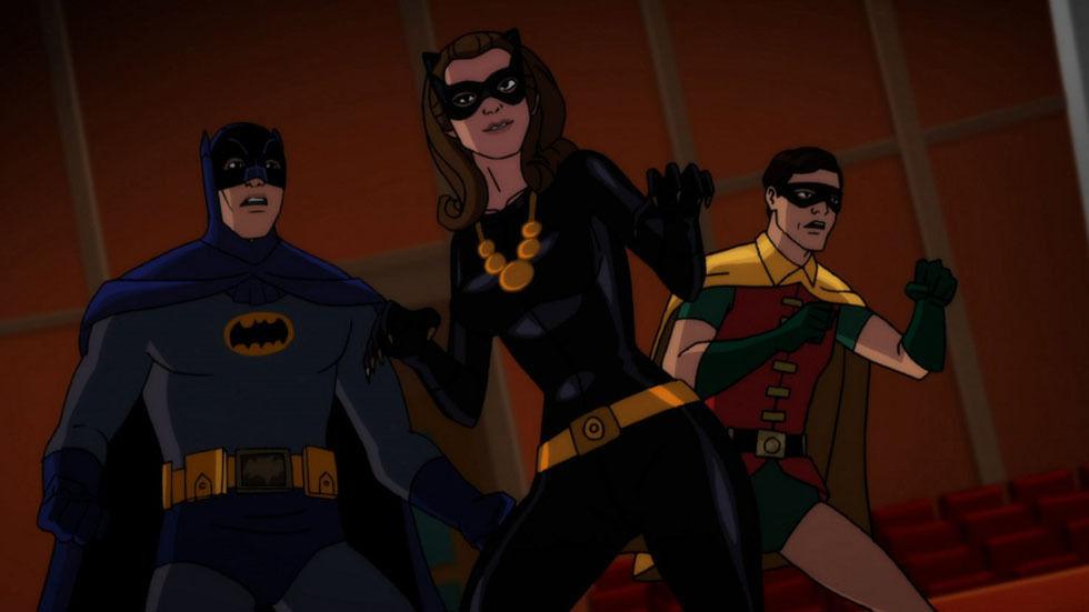 A scene from Batman vs Two-Face.