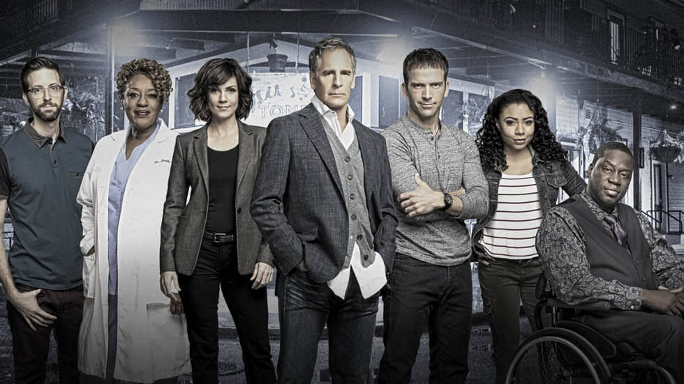 the cast of NCIS: New Oreleans season 1.