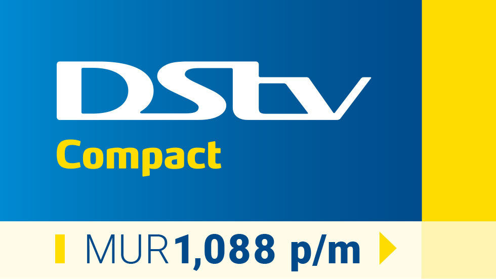 New Get DStv Compact Mauritius tag