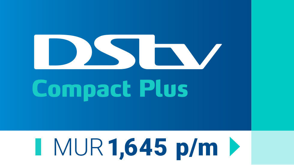 Get DStv Compact Plus tag for Mauritius