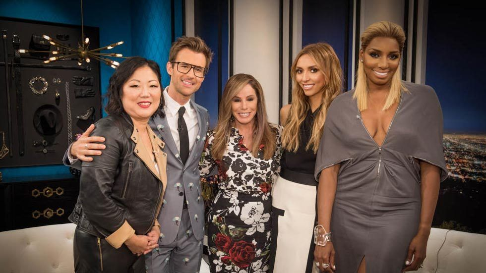 Presenters of the E! show Fashion Police - Melissa Rivers, Giuliana Rancic, Brad Goreski, NeNe Leakes and Margaret Cho.
