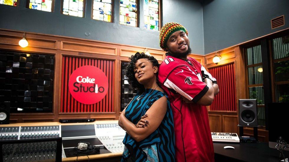Avril and Izzo Bizness on Coke Studio Africa