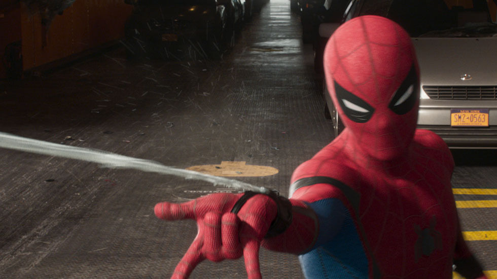 A scene from Spiderman: Homecoming