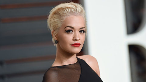 Rita Ora Vanity Fair Oscars Party
