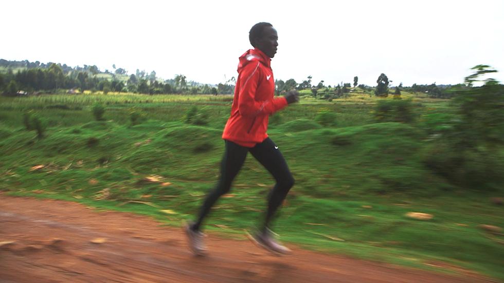 Kenyan marathoner Edna Kiplagat