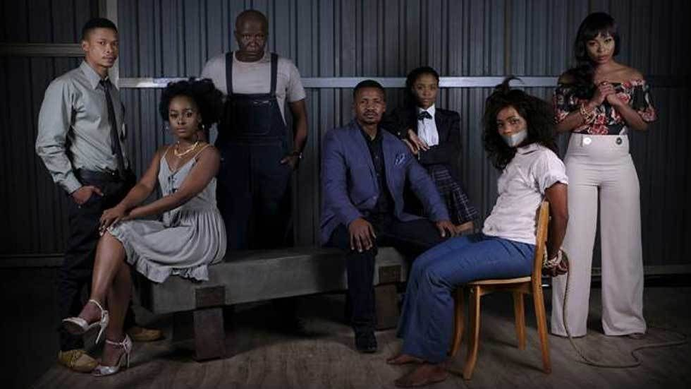 The cast of Mzanzi newest series, The Imposter.