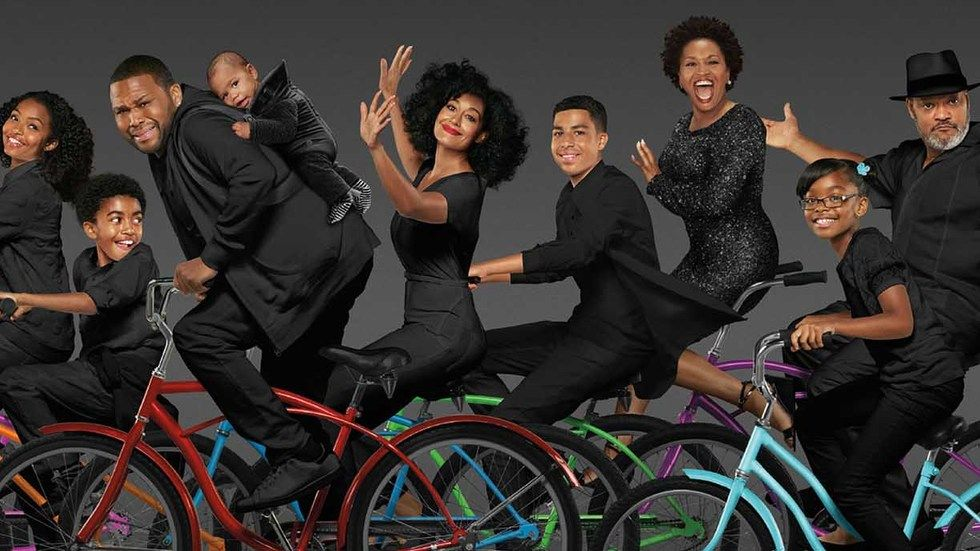 The cast of Black-ish season 4.