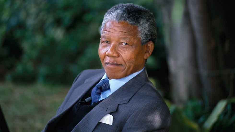 Former president of the Republic of South Africa.