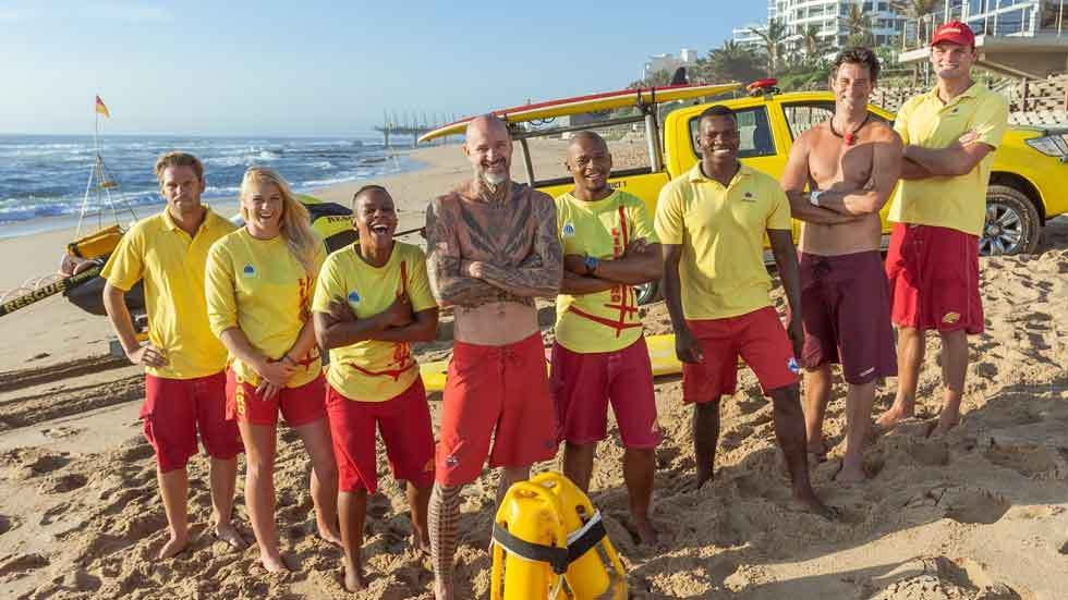 The cast of Durban Beach.