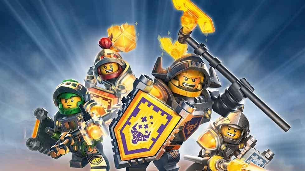 Lego warriors in action.