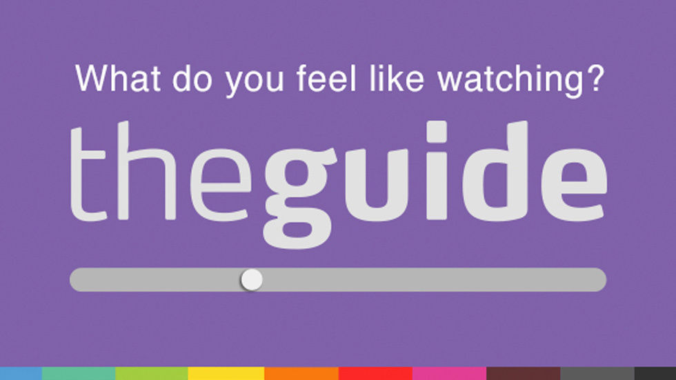 mood slider and theguide logo