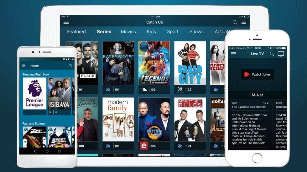 DStv Now apps
