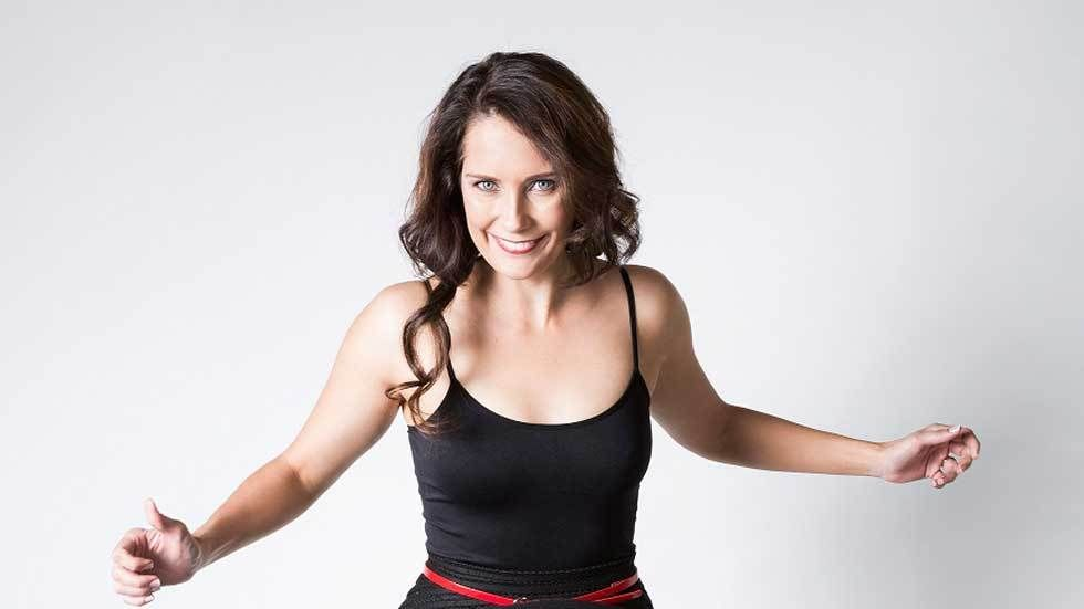 Dancing With The Stars South Africa contestant, Juanita De Villiers.