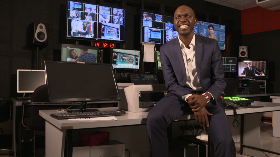 Kenyan journalist Larry Madowo on CNN African Voices