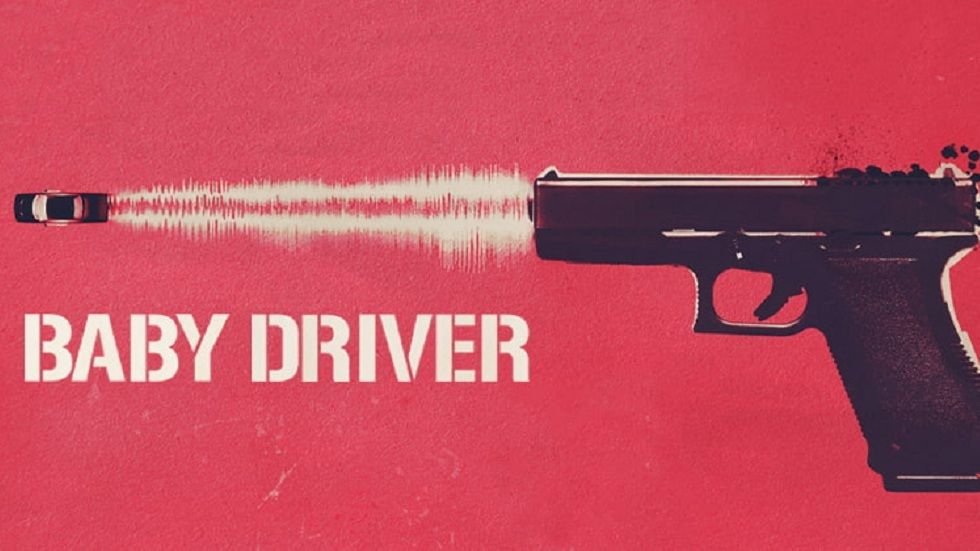 A poster for Baby Driver