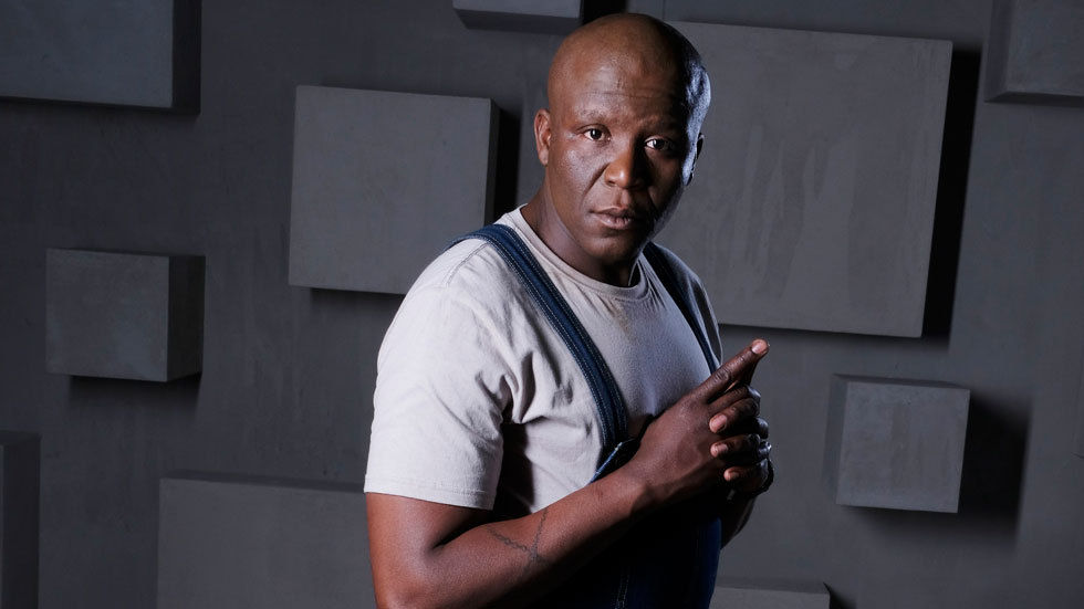 Khulu Skenjana who plays the role of Caesar on The Imposter.