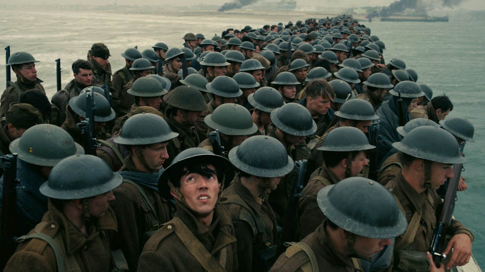 A scene from Dunkirk.