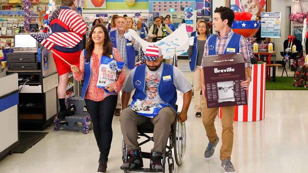 A scene from Superstore