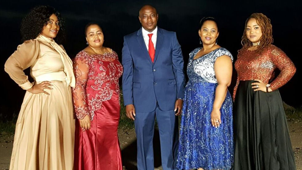 An image of the Mseleku family