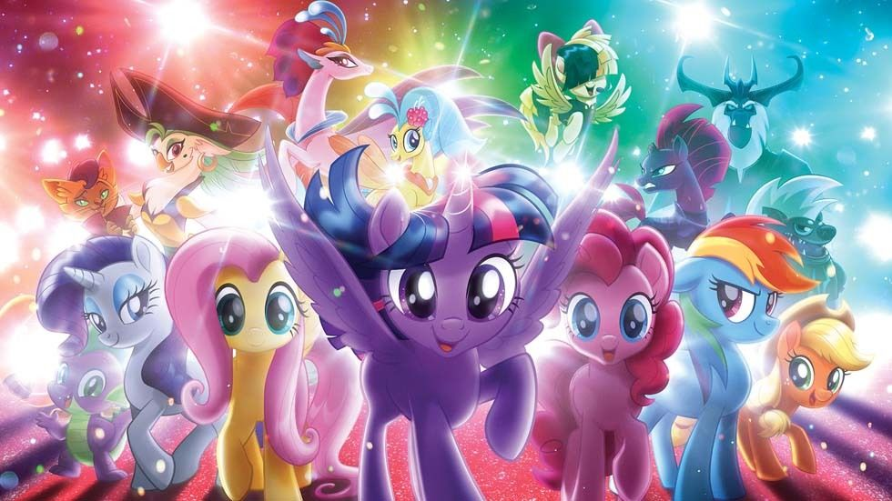 Promo artwork for My Little Pony.