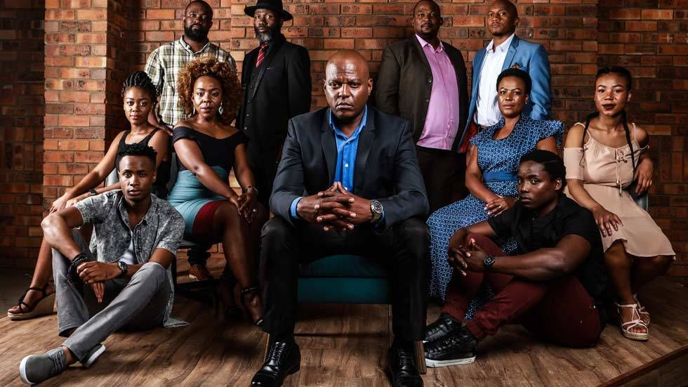 An image of the cast of iKhaya