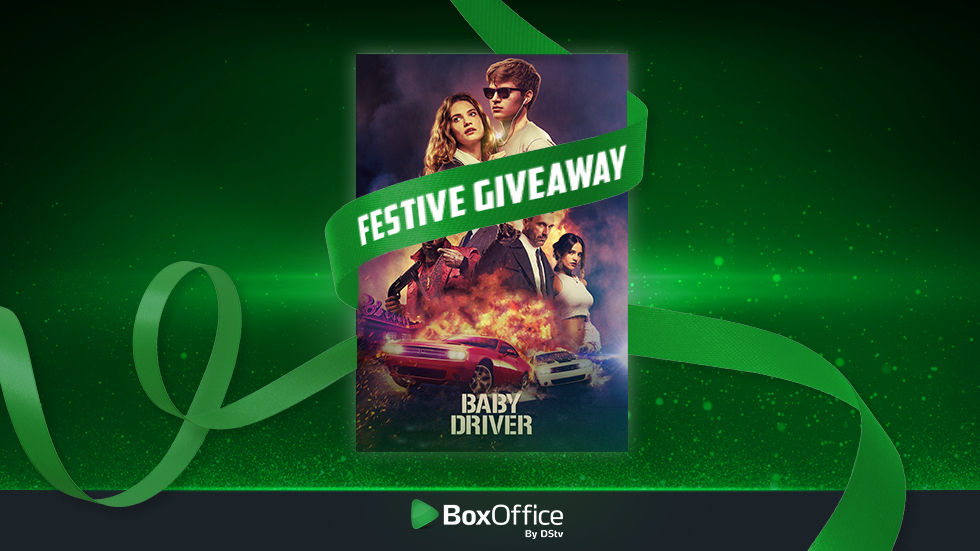 Rent Baby Driver and stand a chance to win.
