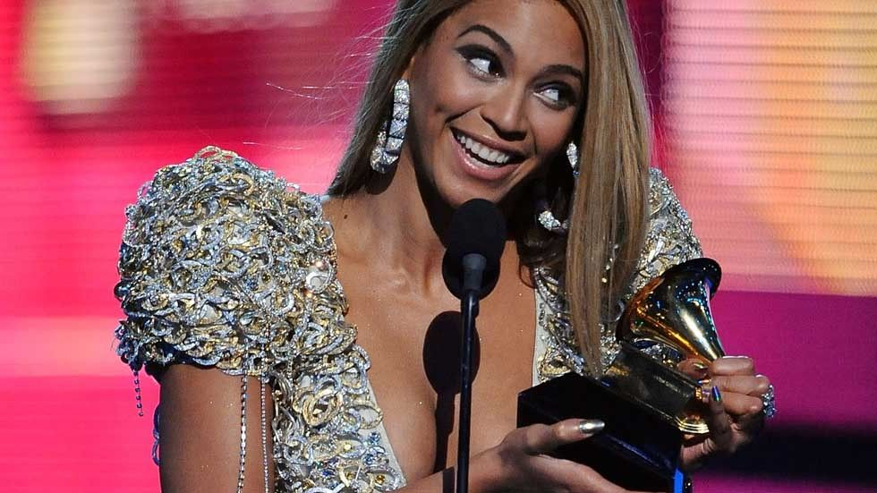 Beyonce at the 2010 Grammys.
