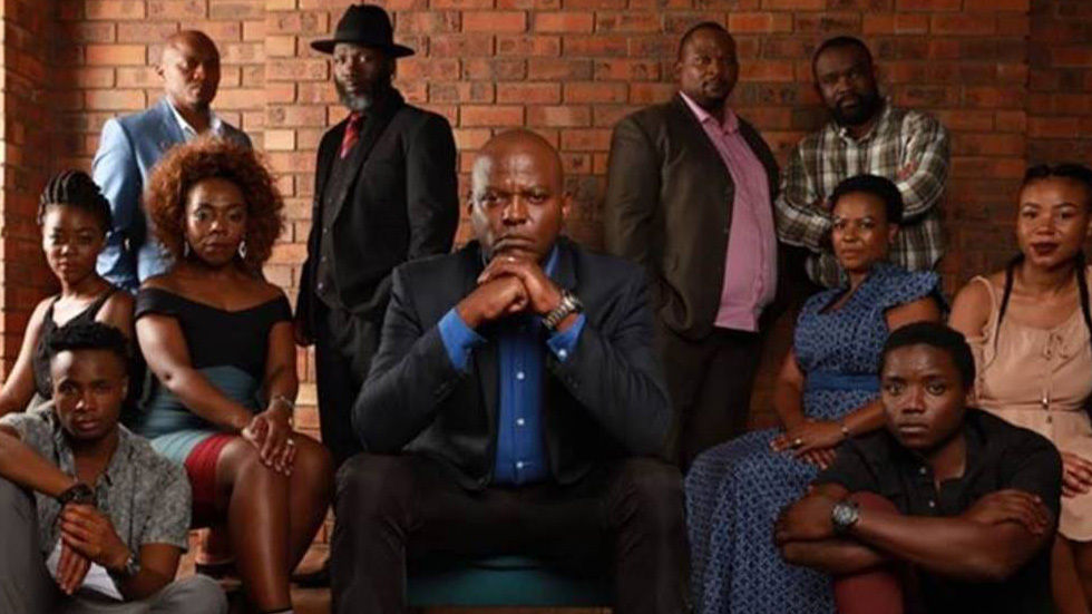 The full cast of iKhaya.