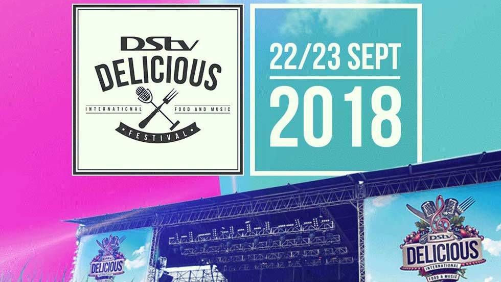 Artwork for DStv Delicious Festival 2018