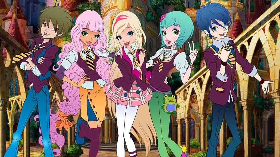Characters from Regal Academy.
