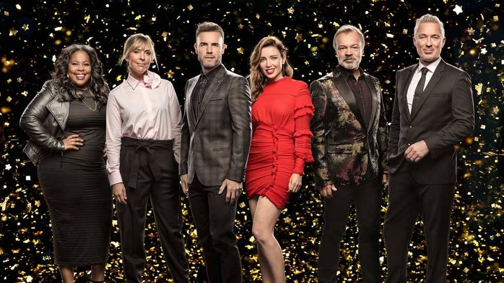 An image of judges and presenters of Let it Shine