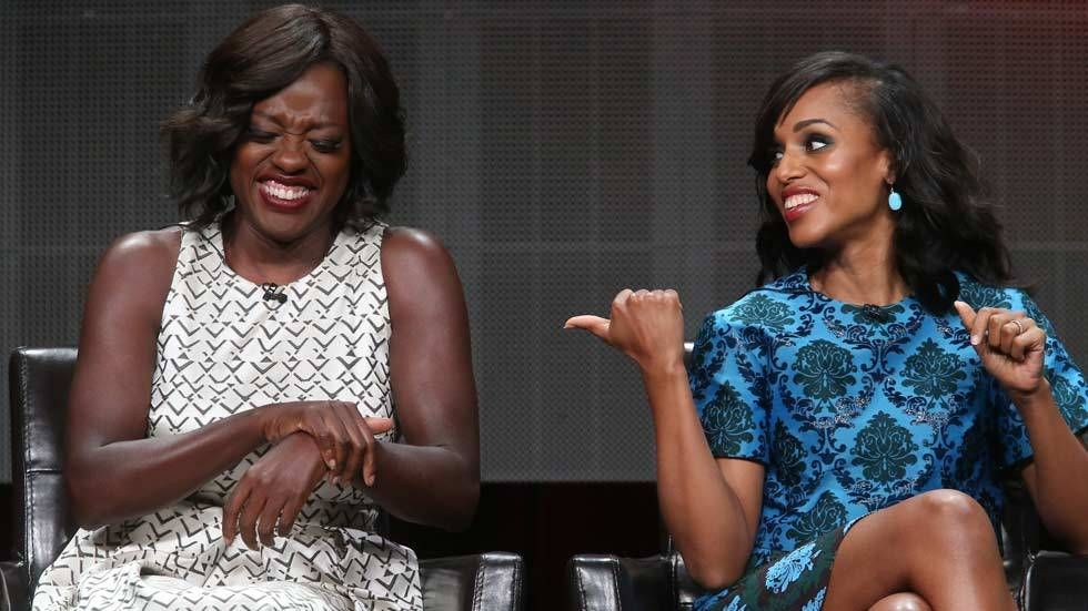 Animage of Viola Davis and Kerry Washington
