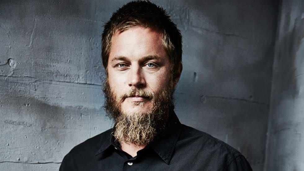 An image of Travis Fimmel aka Ragnar Lothbrok on Vikings