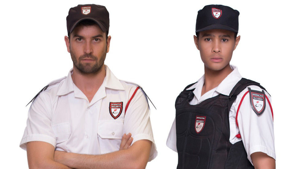 two people in uniform