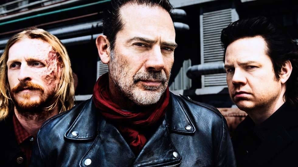 Three actors from The Walking Dead