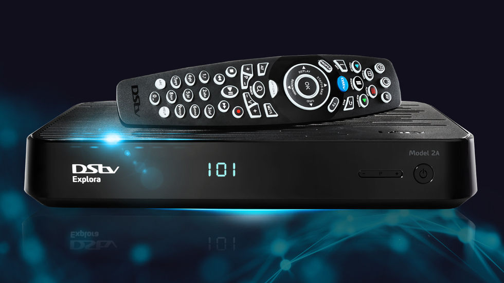 DStv Explora 2 Decoder and DStv Remote