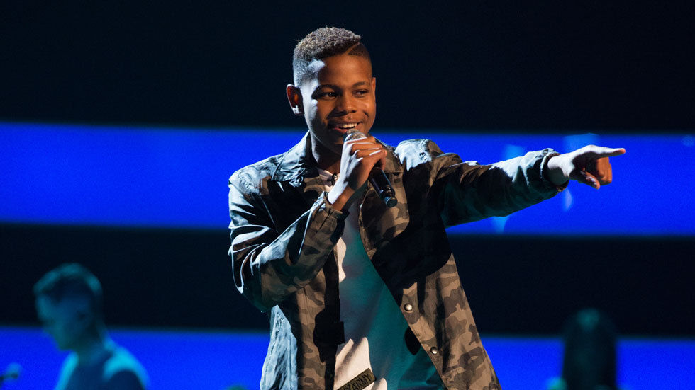 Donel Mangena on The Voice UK on ITV Choice, DStv channel 123
