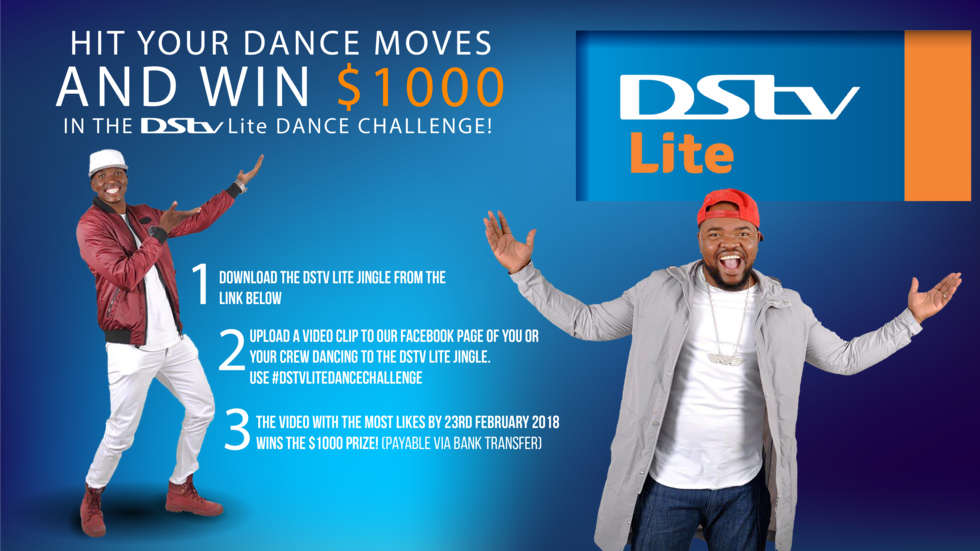 Hit your dance moves and win $1000 in the DStv Lite Dance Challenge