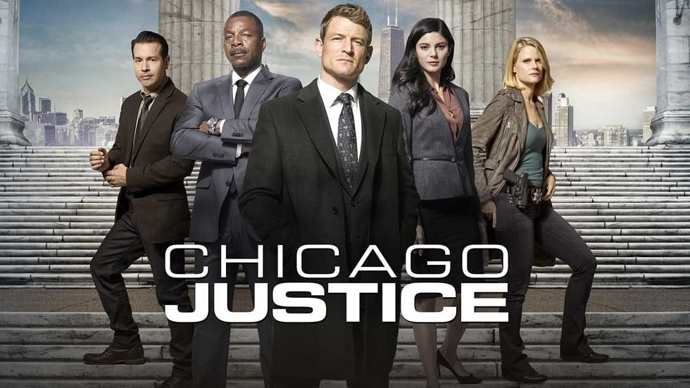 Promo art for Chicago Justice.