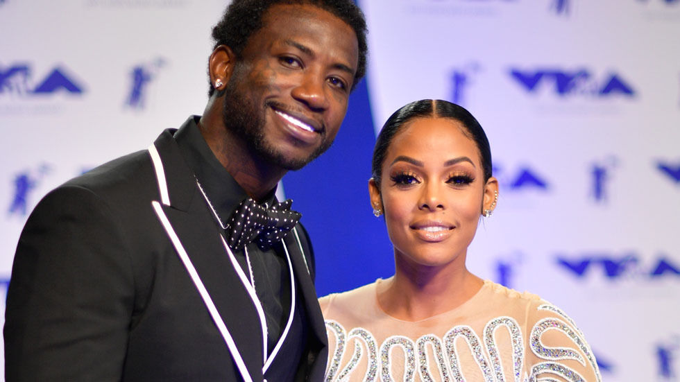 Gucci Mane and Keyshia Ka'oir.