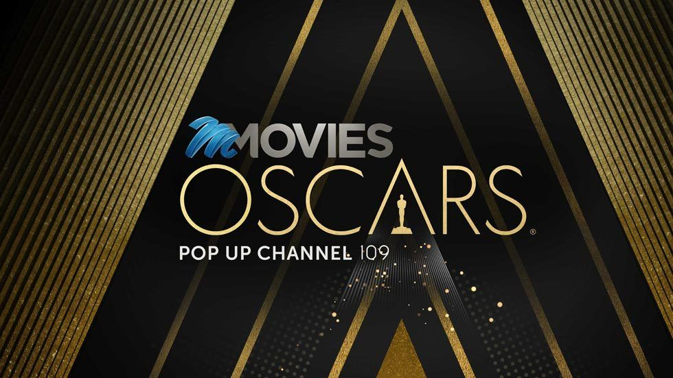 Logo for the M-Net Movies Oscars pop-up channel