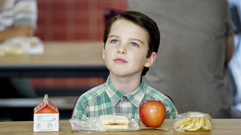 A scene from Young Sheldon.