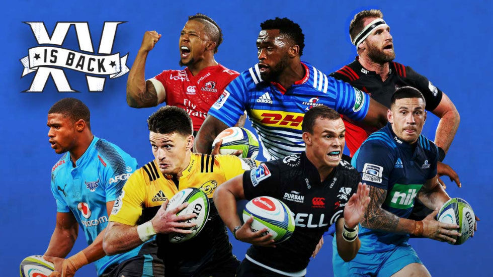 The official Super Rugby 2018 artwork.