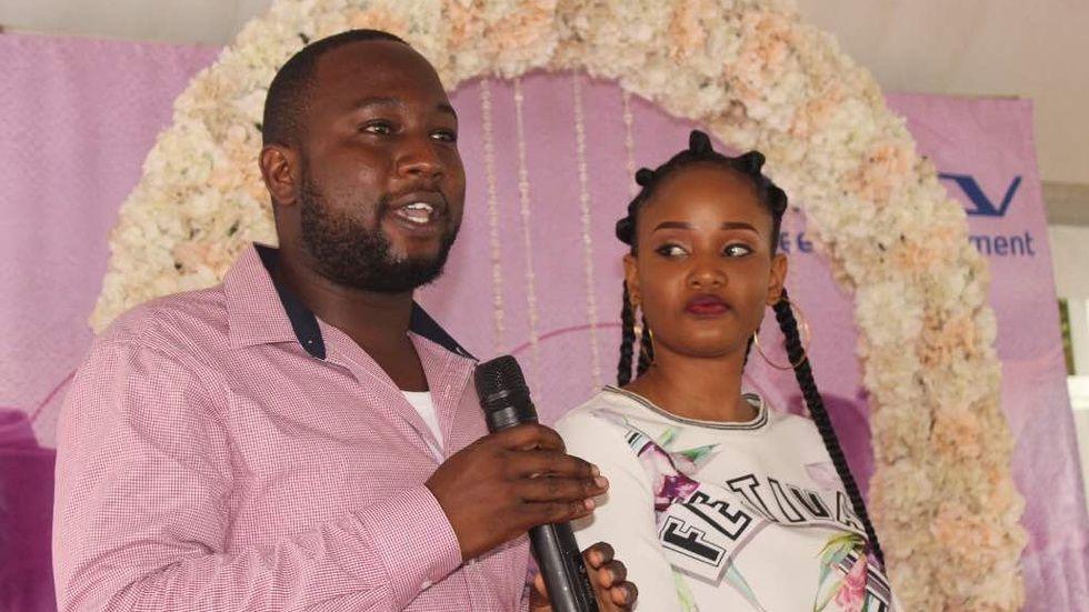 Washindi wa Harusi Ya Ndoto Yake kupitia Maisha Magic Bongo